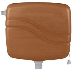 CAIXA DESCARGA CARAMELO 9LT GRANPLAST