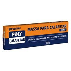 MASSA CALAFETAR 350GR CINZA PULVITEC