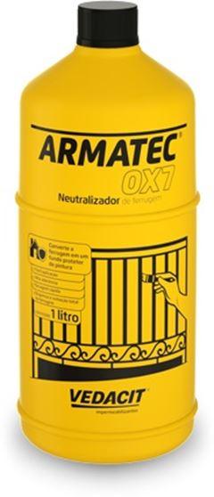 NEUTRALIZADOR DE FERRUGEM 500ML VEDACIT - (ARMATEC OX7)