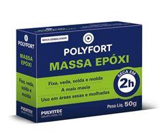 MASSA EPOXI 50GR POLYEPOX PULVITEC