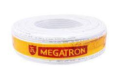 CABO COAXIAL RG 59 67% 100M BRANCO MEGATRON