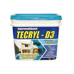 TECRYL D-3 4KG CINZA