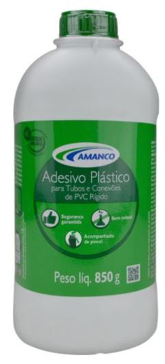 ADESIVO PLASTICO 850GR AMANCO
