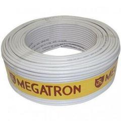 CABO COAXIAL RGC 06 47% 100M BRANCO MEGATRON