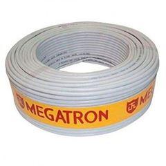 CABO COAXIAL RG 06 95% 100M BRANCO MEGATRON