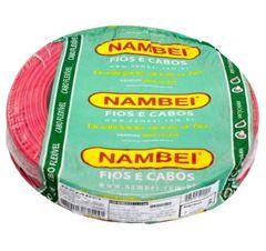 CABO FLEX. 02.50MM VD NAMBEI C/100M