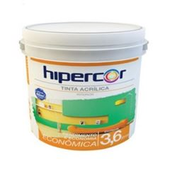 HIPERCOR ACRILICO ECONOMICO 3,6LT BRANCO NEVE
