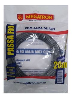 PUXA FIO COM 20 METROS MEGATRON