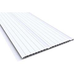 FORRO PVC 20CMX4MT BRANCO FRISADO PERFILPLAST COM 8M²