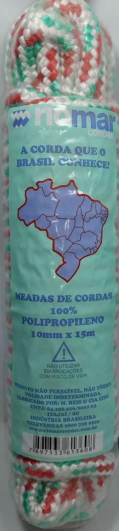 CORDA MEADA PP 10MM COM 15MT M.REIS
