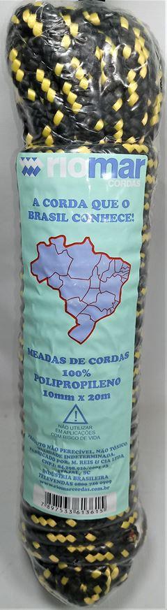 CORDA MEADA PP 10MM COM 20MT M.REIS