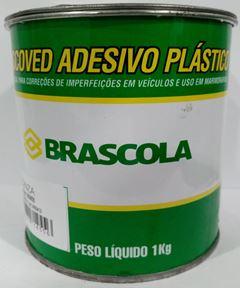 MASSA PLASTICA CINZA 1KG BRASCOLA