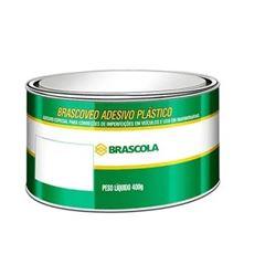 MASSA PLASTICA CINZA 400G BRASCOLA