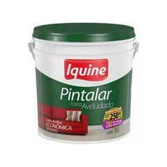IQUINE PINTALAR VINIL ACRILICA 15LT BALDE BRANCO GELO