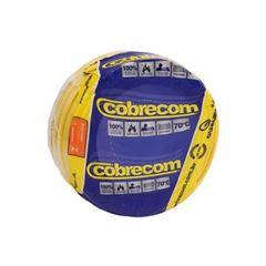 CABO FLEXIVEL 01.50MM AMARELO COBRECOM COM 100MT