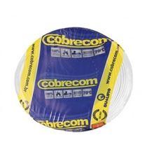 CABO FLEXIVEL 01.50MM BRANCO COBRECOM COM 100MT