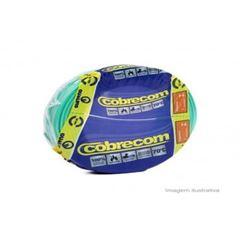 CABO FLEXIVEL 01.50MM VERDE COBRECOM COM 100MT