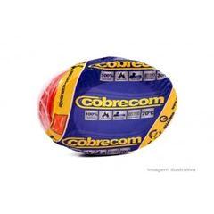 CABO FLEXIVEL 01.50MM VERMELHO COBRECOM COM 100MT