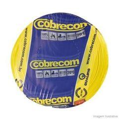 CABO FLEXIVEL 02.50MM AMARELO COBRECOM COM 100MT