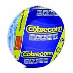 CABO FLEXIVEL 02.50MM AZUL COBRECOM COM 100MT