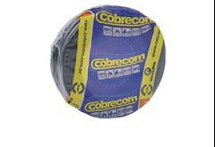 CABO FLEXIVEL 02.50MM PRETO COBRECOM COM 100MT