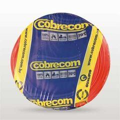 CABO FLEXIVEL 02.50MM VERMELHO COBRECOM COM 100MT