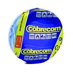 CABO FLEXIVEL 04.00MM AZUL COBRECOM COM 100MT