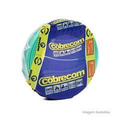 CABO FLEXIVEL 04.00MM VERDE COBRECOM COM 100MT