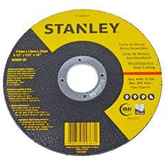 DISCO CORTE PARA INOX FERRO 4.1/2 STANLEY