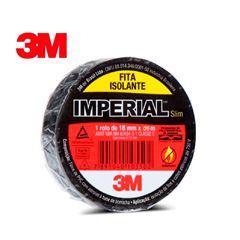 FITA ISOLANTE 18MMX05M PRETO IMPERIAL 3M