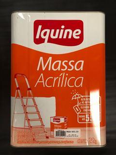 MASSA ACRILICA 25KG IQUINE LATA