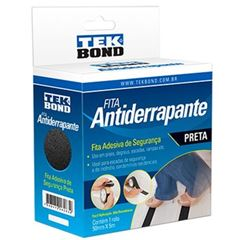 FITA ANTIDERRANPANTE 50X05M PRETO TEKBOND