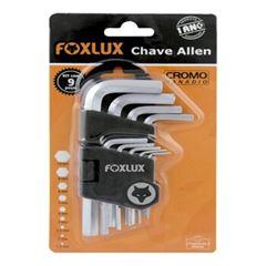 JOGO CHAVE ALLEN 9 PC FOXLUX