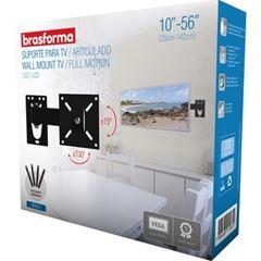 SUPORTE PARA TV LED ARTICULADO 10-56 BRASFORMA