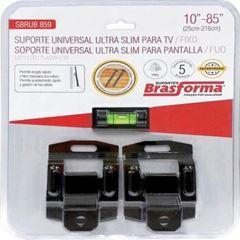 SUPORTE PARA TV UNIVERSAL ULTRA SLIM FIXO 10-85