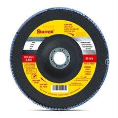 DISCO FLAP 4.1/2 GRÃO-120 STARRETT