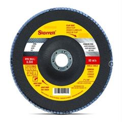 DISCO FLAP 4.1/2 GRÃO-080 STARRETT