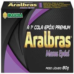 MASSA EPOXI 80GR ARALBRAS BRASCOLA