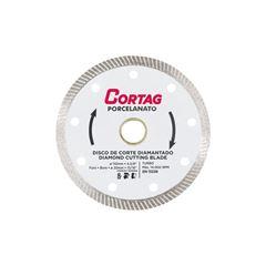 DISCO DIAMANTADO PORCELANATO TURBO CORTAG