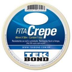 FITA CREPE 48MMX50M BRANCO TEKBOND