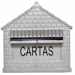 CAIXA DE CORREIO PVC COLONIAL PRATA