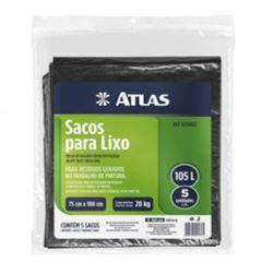 SACO DE LIXO ATLAS AT6080L PT 105L