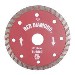 DISCO DIAMANTADO TURBO 9 RED DIAMOND