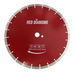 DISCO DIAMANTADO PARA CONCRETO 350MM 12 CT2 RED DIAMOMD