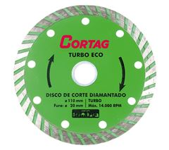 DISCO DIAMANTADO TURBO 110X20MM KAEF