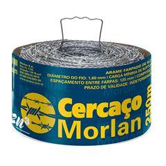 ARAME FARPADO CERCAÇO 500M ZN3 MORLAN