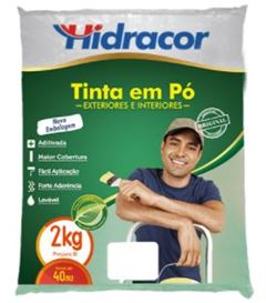TINTA EM PÓ 2 KG BRANCO GELO HIDRACOR