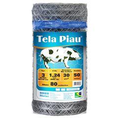 """TELA HEXAGONAL PIAU MANGUEIRÃO 3"""" FIO 18 1,20MX50M MORLAN"""