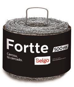 ARAME FARPADO FORTTE 500M FIO 16 BELGO